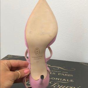 SJP by Sarah Jessica Parker Shoes - SJP Baby Pink Suede Heels sz 10